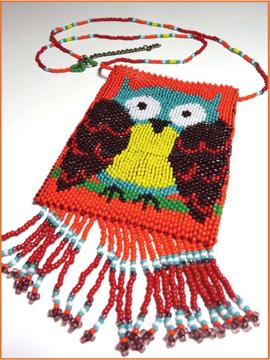 Owl Amulet Pattern - $3.93