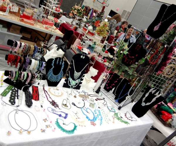 Craft show jewelry