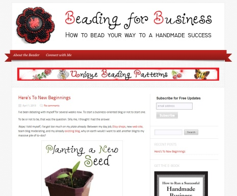 beading for Business Blog