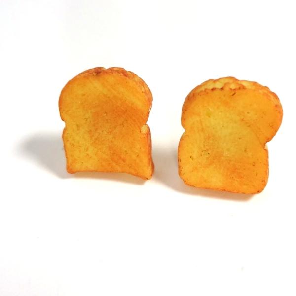 Miniature Toast Earrings