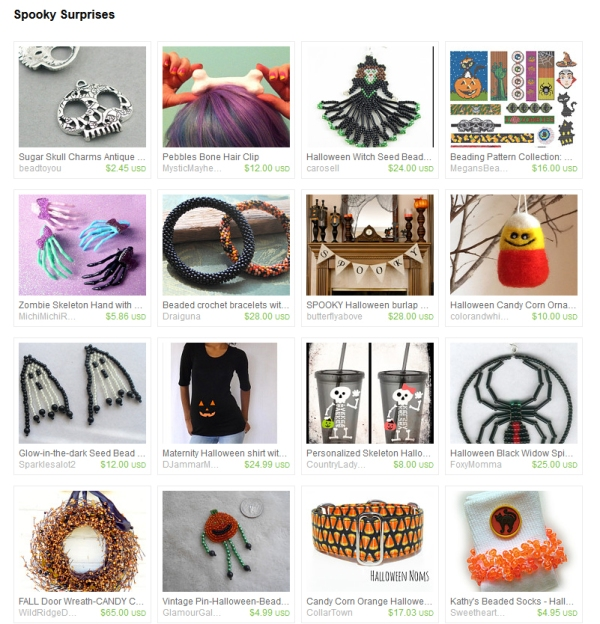 Halloween Etsy Treasury