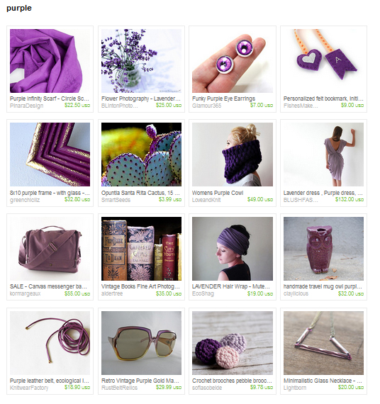 Purple Etsy Treasury