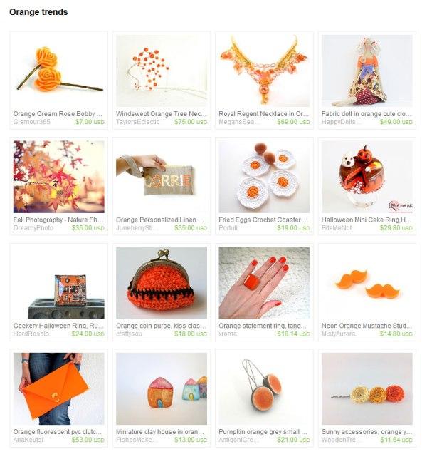 Trendy Orange Gifts