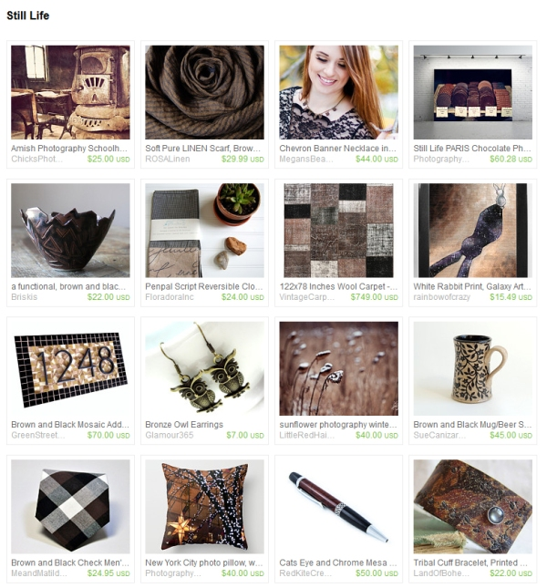Still Life Etsy Treasury