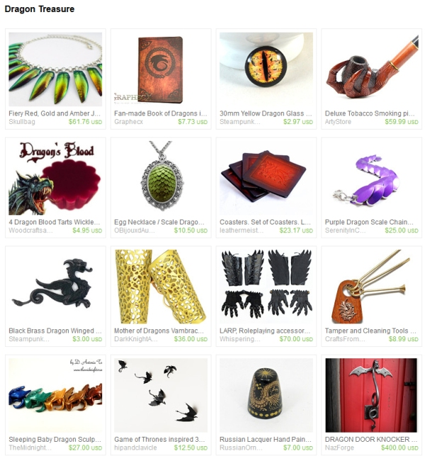 Dragon Etsy Finds