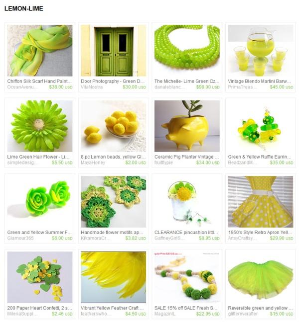 lemon-lime-treasury