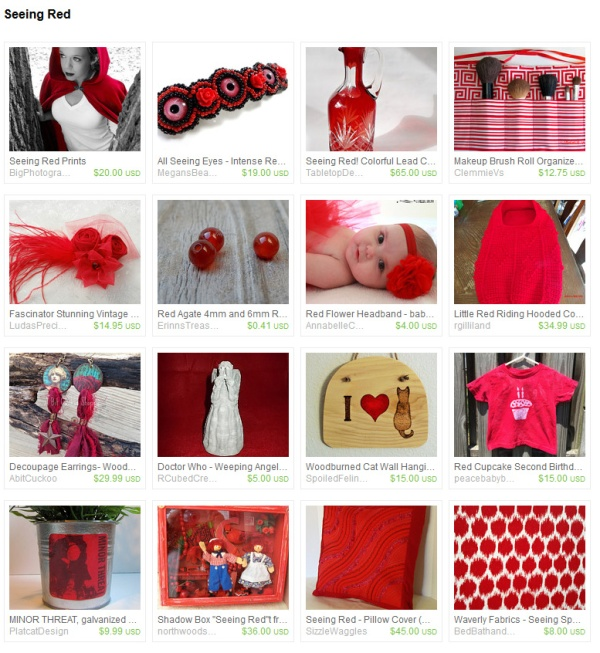 Red Handmade Gifts