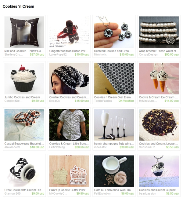 Cookies n cream Etsy Finds